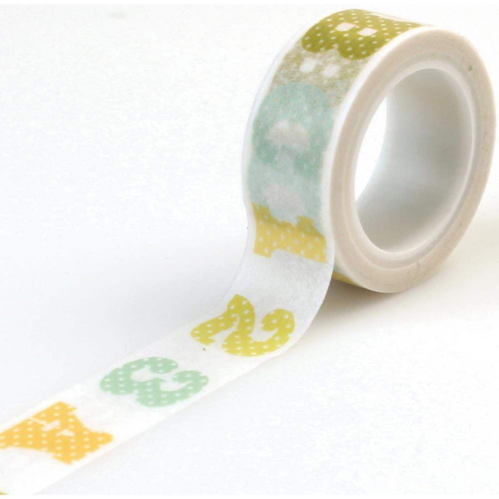 Carta Bella Washi Tape - [Collection] - It's A Boy ABC123