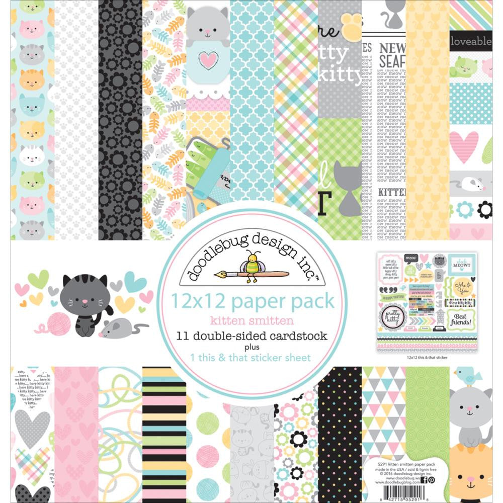 Doodlebug Design Collection Pack - [Collection] - Kitten Smitten