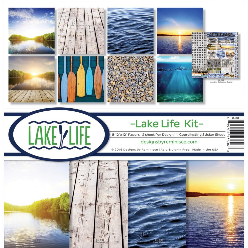 Reminisce Collection Pack - [Collection] -Lake Life Kit