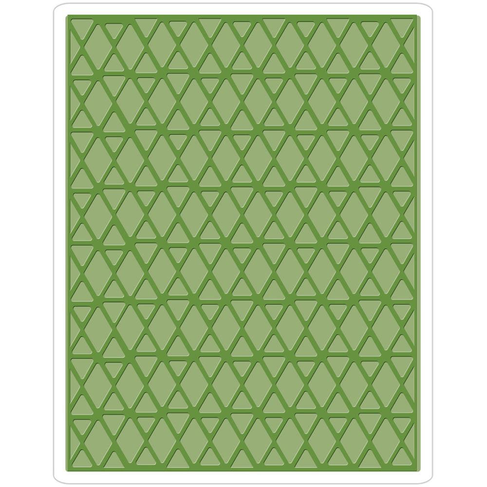 Sizzix Embossing Folders - [Tim Holtz] - Lattice