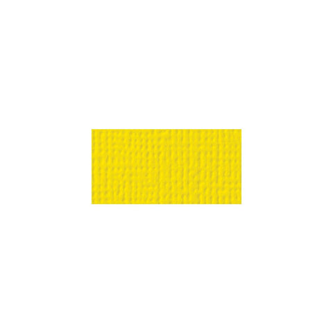 American Crafts 12x12 Cardstock  - Lemon