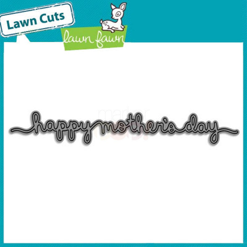 Lawn Fawn Dies - Mothers Day Border