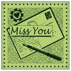 Inkadinkado Rubber Mini Stamps - Miss You
