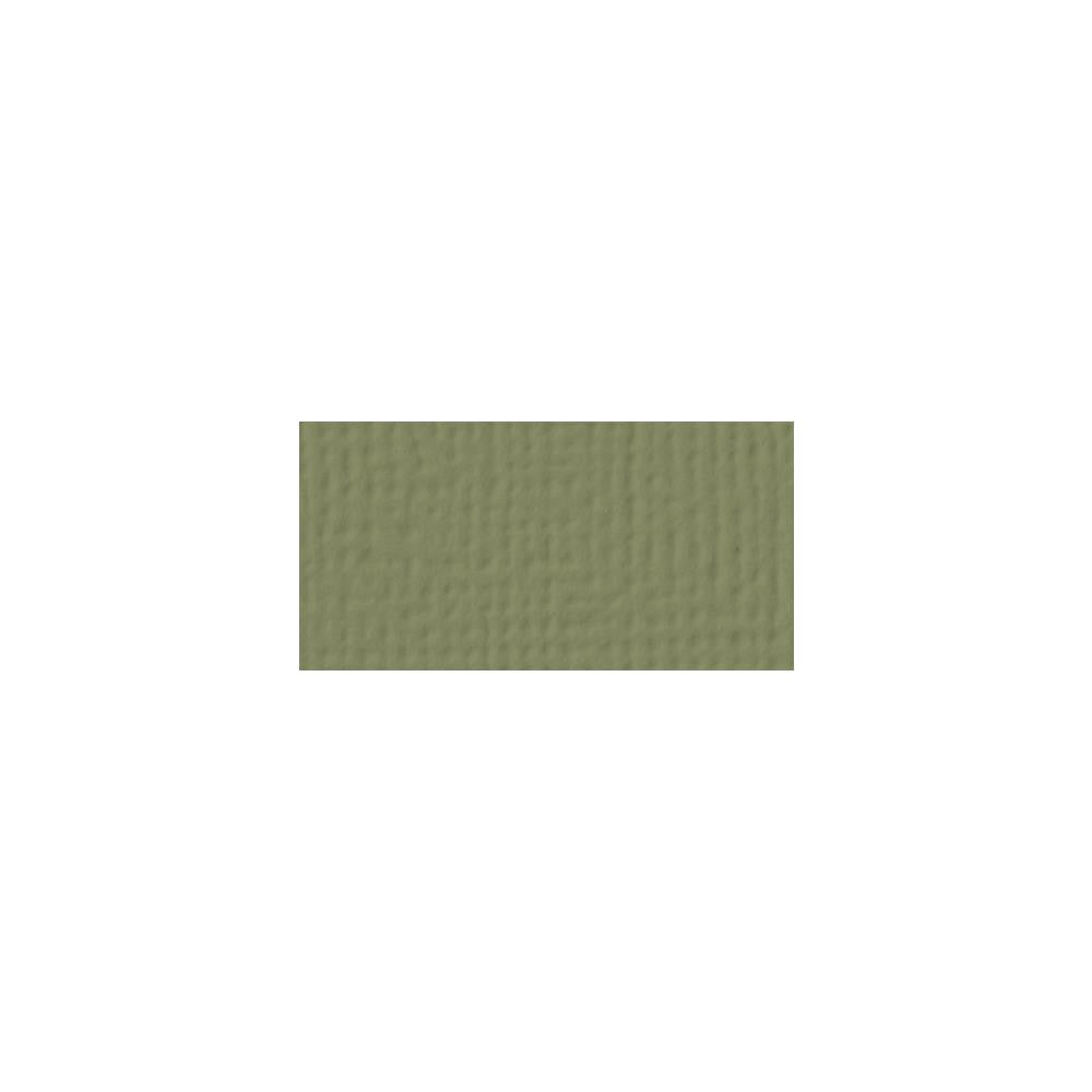 American Crafts 12x12 Cardstock  - Olive