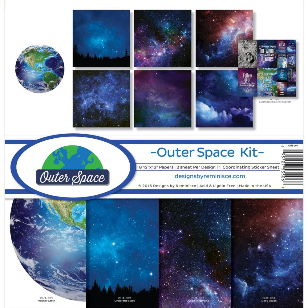 Reminisce Collection Pack - [Collection] - Outer Space Kit