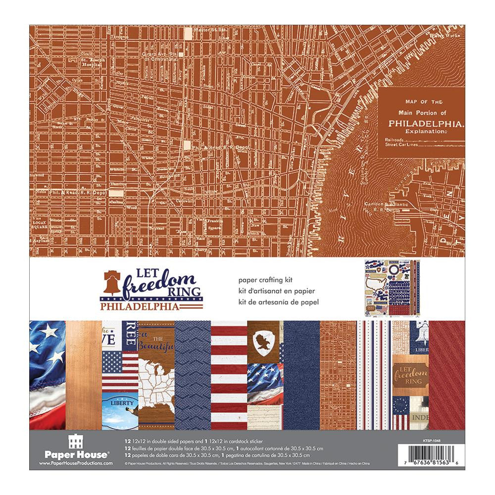 Paper House Collection Pack - [Collection] - Let Freedom Ring Philadelphia