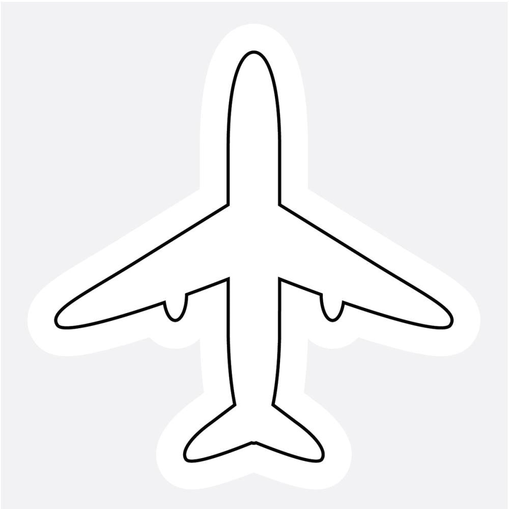 Imaginisce Clear Stamp - Airplane
