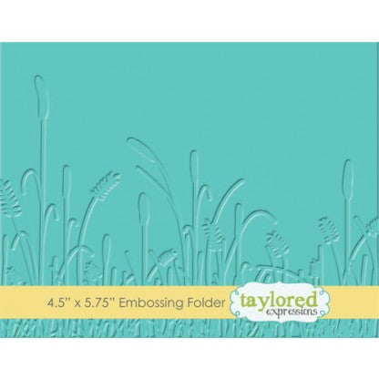 Taylored Expressions Embossing Folder - Prairie