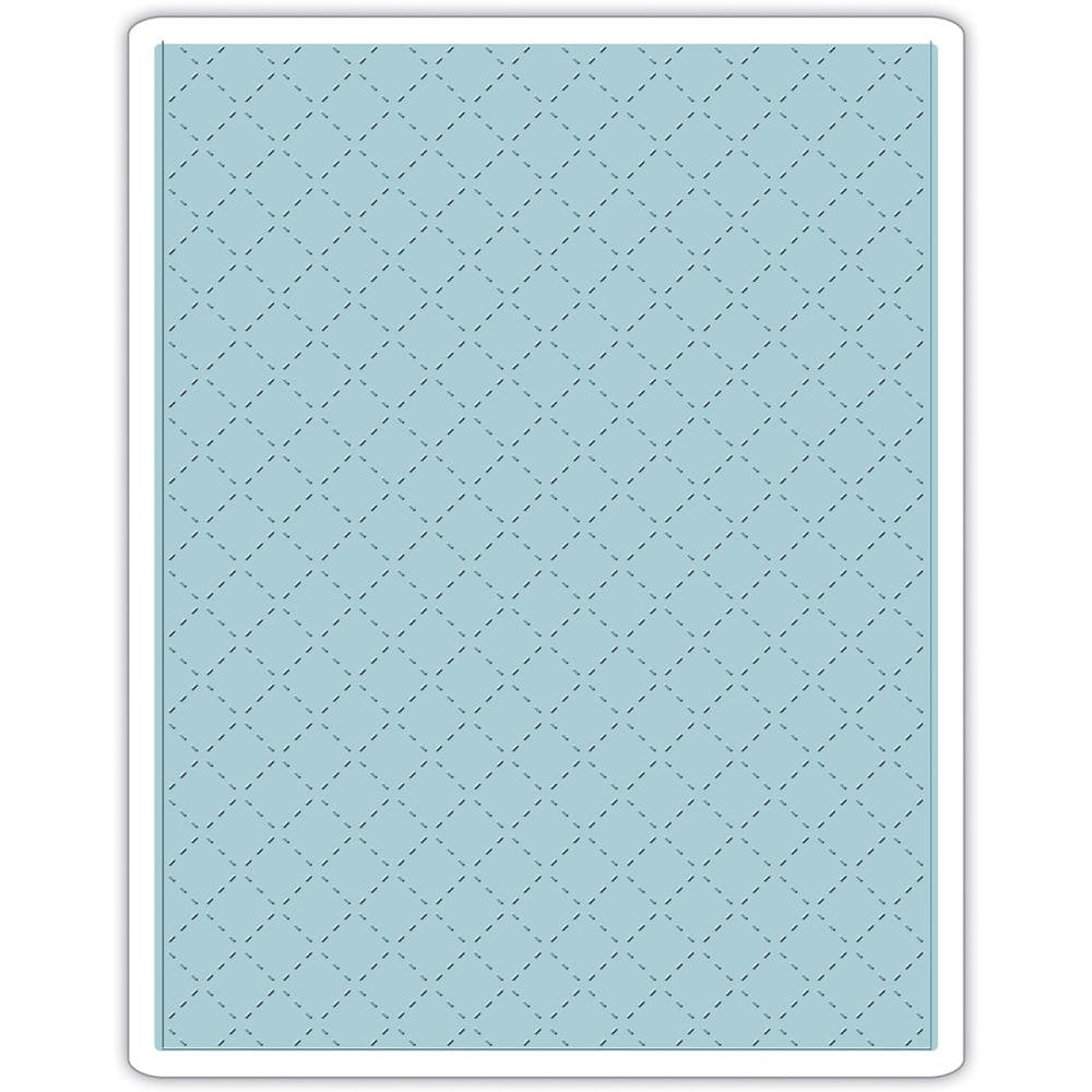 Sizzix Embossing Folders - [Tim Holtz] - Quilted