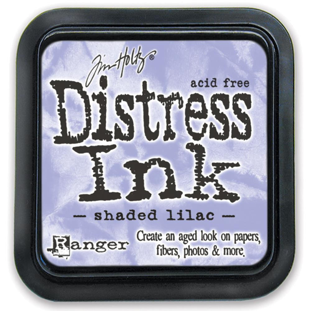 Tim Holtz Distress Ink Pad Full Size - Shaded Lilac