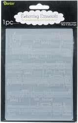 Darice Embossing Folder - Sheet Music