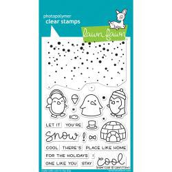 Lawn Fawn Stamp  [Stamp & Die - PART] - Snow Cool