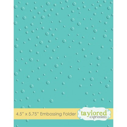 Taylored Expressions Embossing Folder - Snowfall