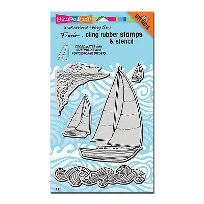Stampendous Stamp - Sailboats