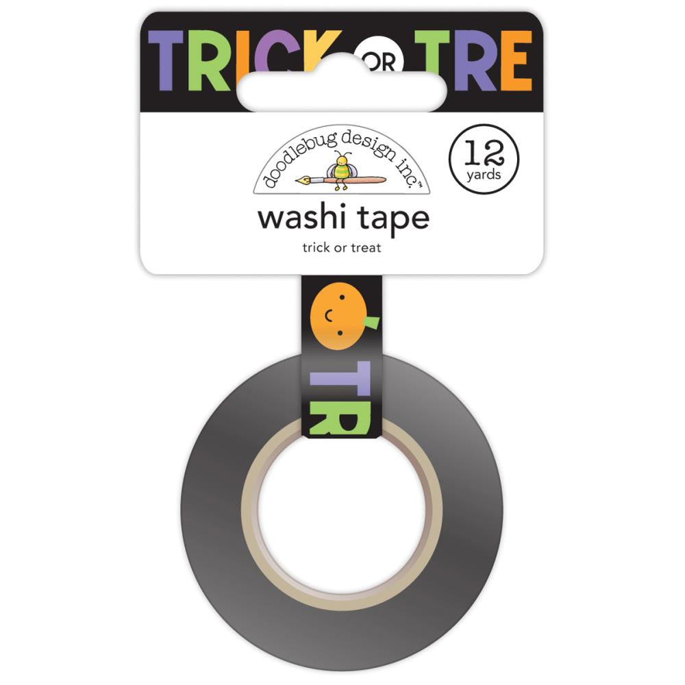 Doodlebug Design Washi Tape - Trick Or Treat
