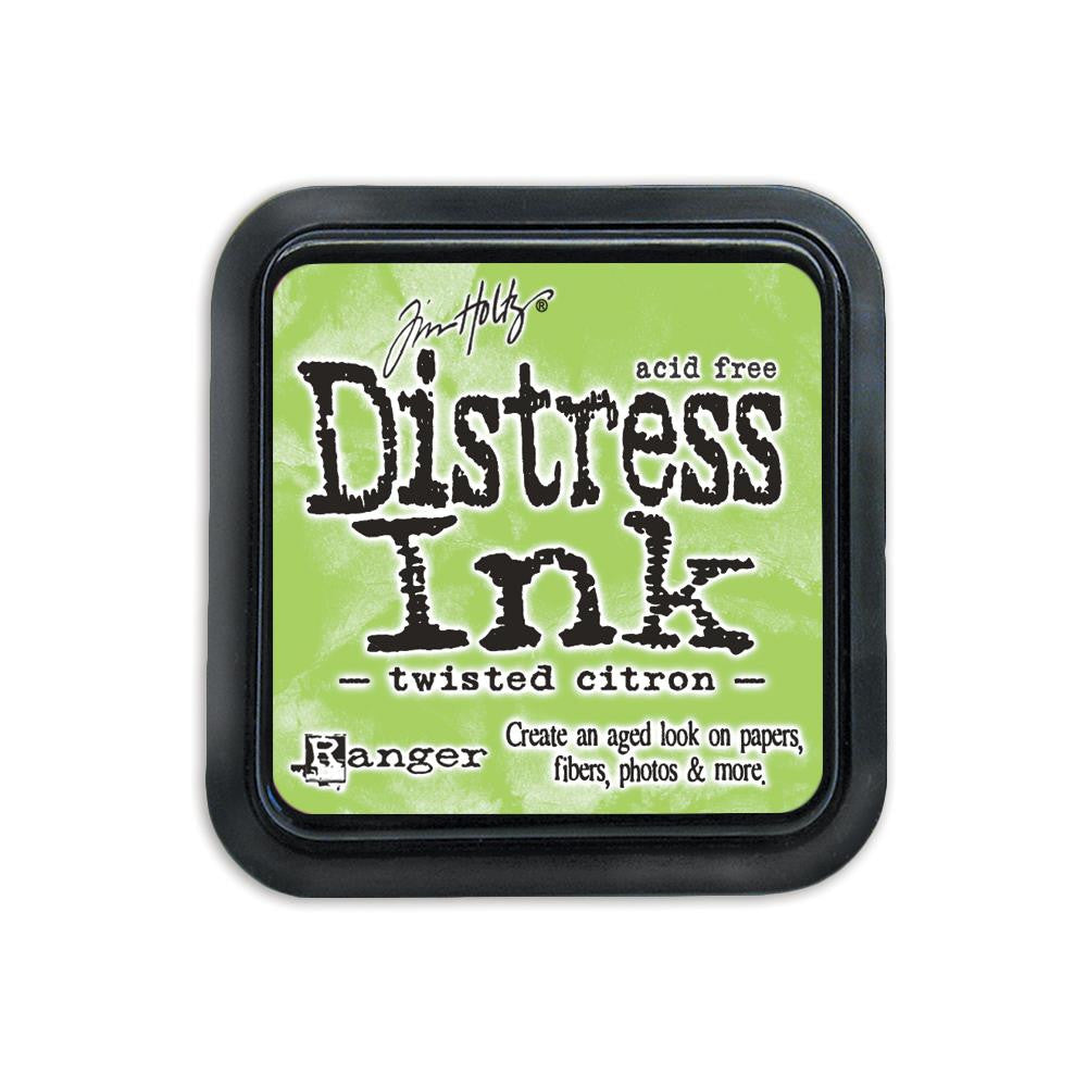 Tim Holtz Distress Ink Pad Full Size - Twisted Citron