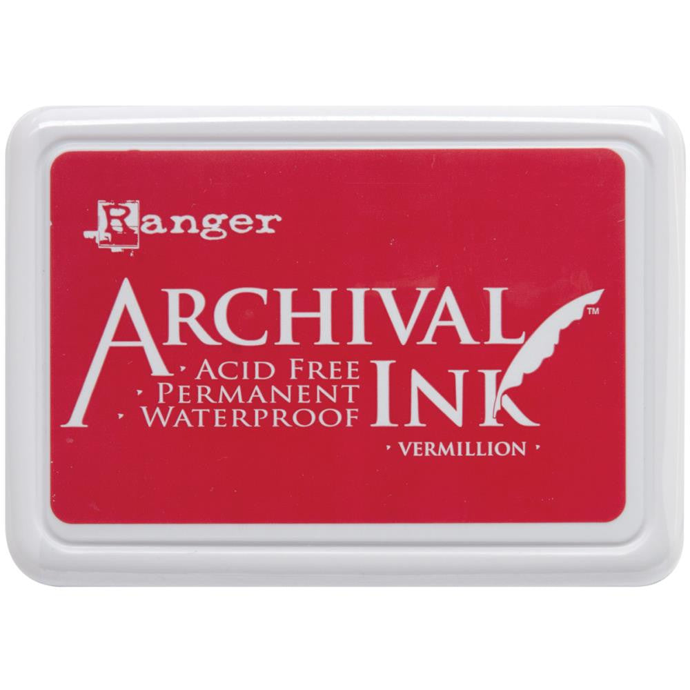 Ranger Archival Ink - Vermillion