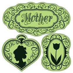 Inkadinkado Rubber Stamps - Vintage Mother's Day
