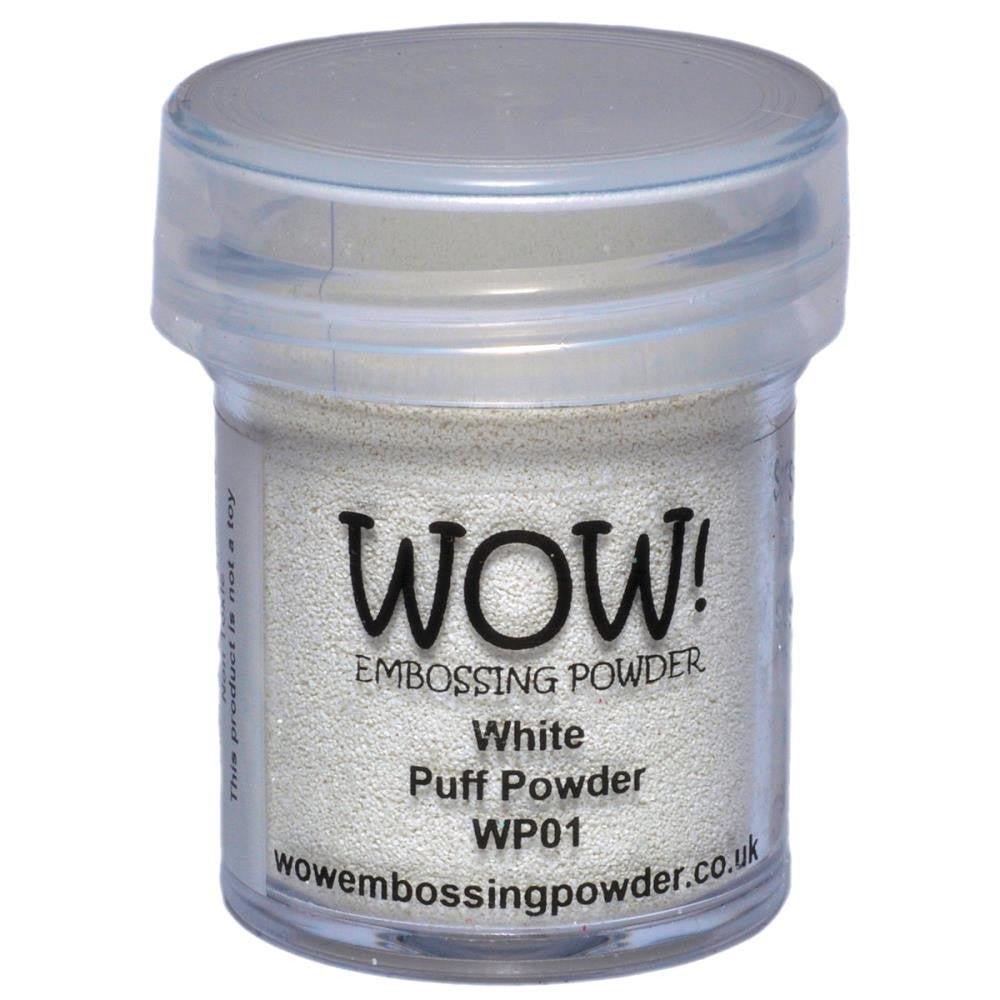 WOW Embossing Powders - White Puff Powder