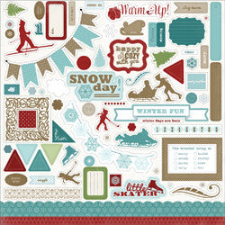 Carta Bella Cardstock Stickers - [Collection] - Winter Fun
