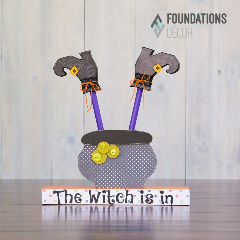 "The ""WITCH IS IN"" Halloween KIT"