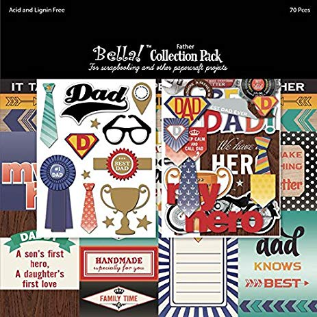 Bella! FATHER collection pack 12 x 12
