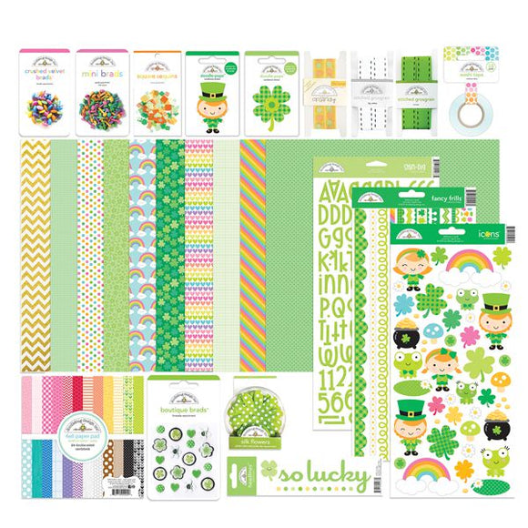 DOODLEBUG Collection kit ($70 value) ST. PATRICK'S DAY EDITION
