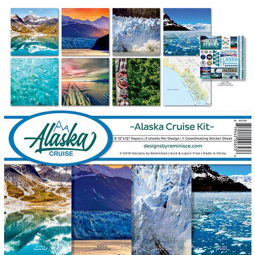 Alaska Cruise Kit Collection 12 x 12