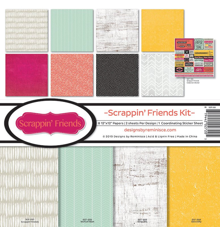 Scrappin' Friends Kit Collection 12 x 12