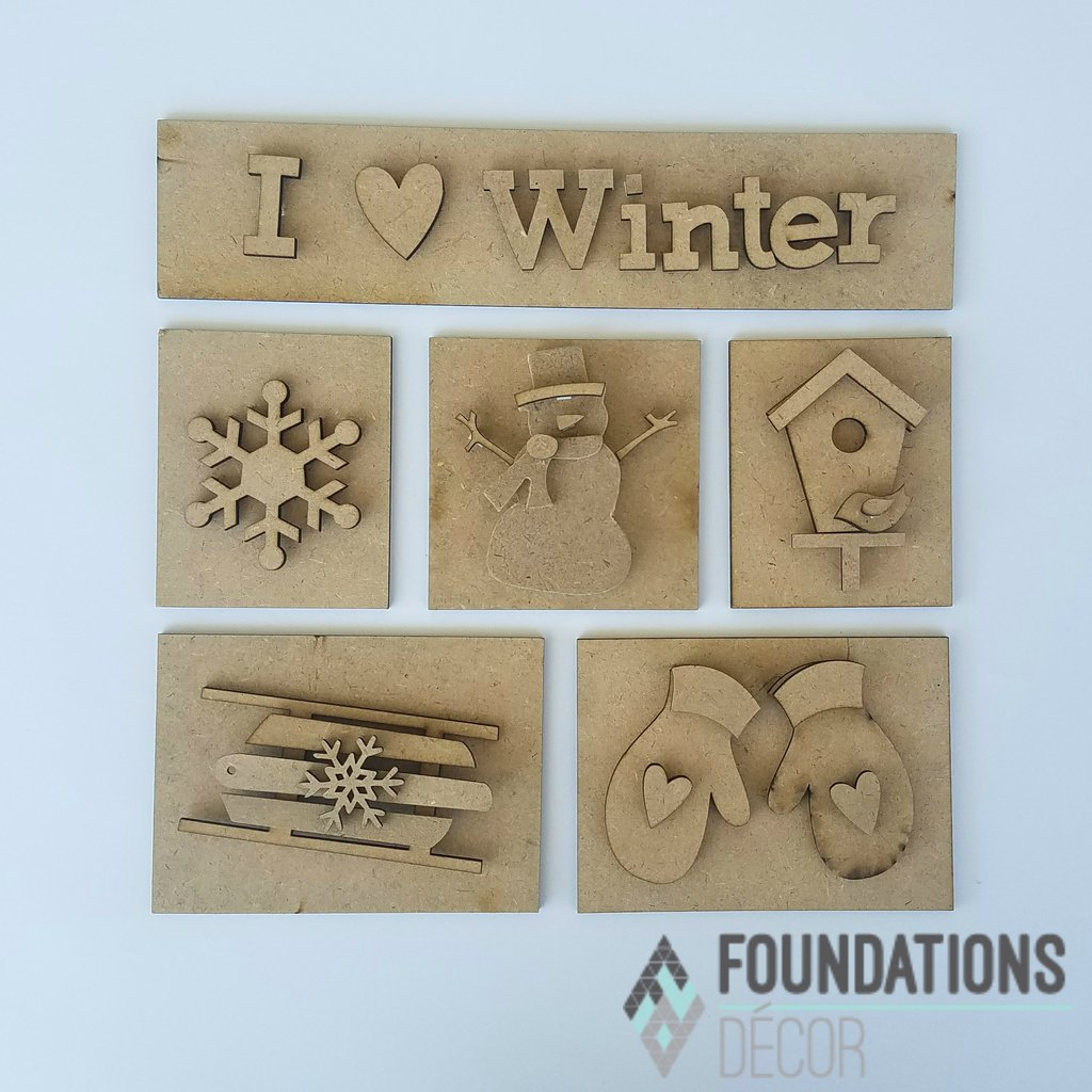 Monthly Magnetic Shadow Box Class - WINTER Edition WEDNESDAY, DECEMBER 19th  5:30 - 9PM