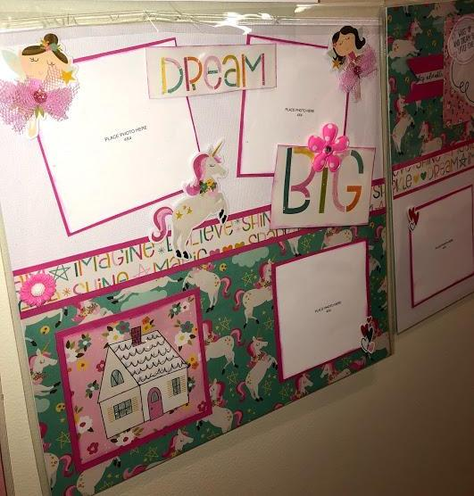DREAM BIG 8 PAGE LAYOUT 12 X 12 KIT