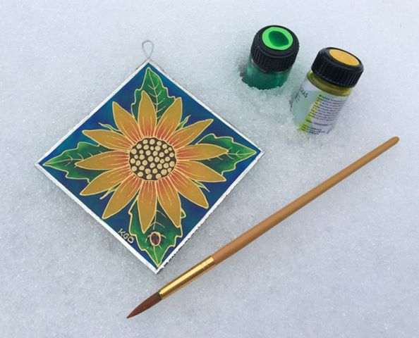 Glass Painting Workshop Friday, April 26th 6pm-8:30pm