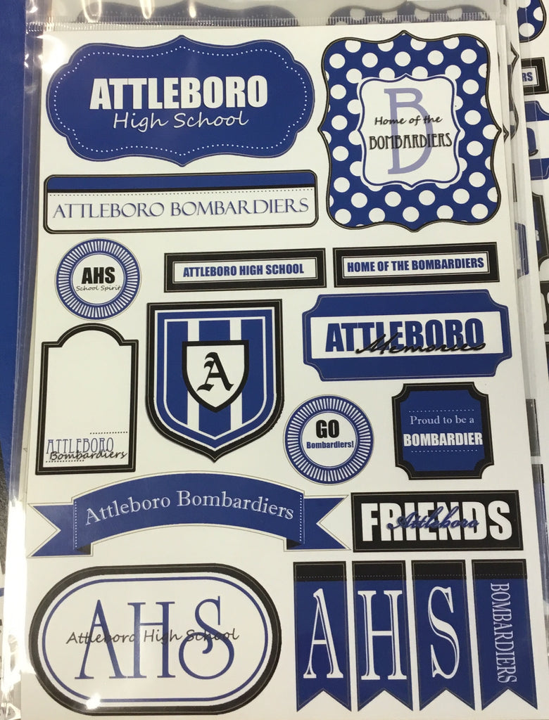 Attleboro High School stickers
