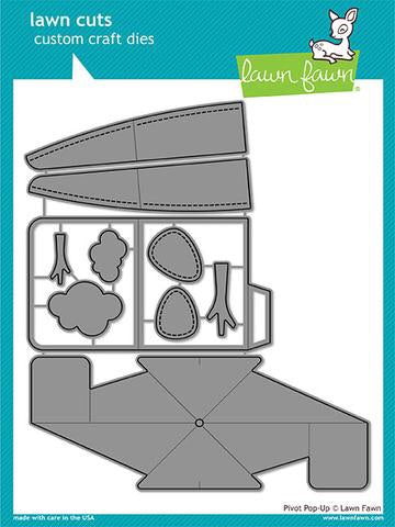 Lawn Fawn custom craft die- pivot pop-up
