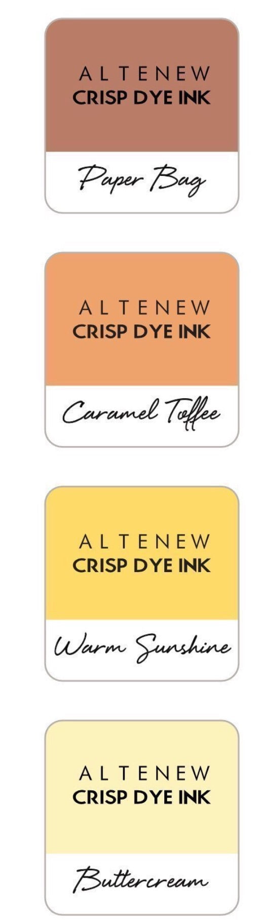Altenew Crisp Dye Inks- Summer Afternoon