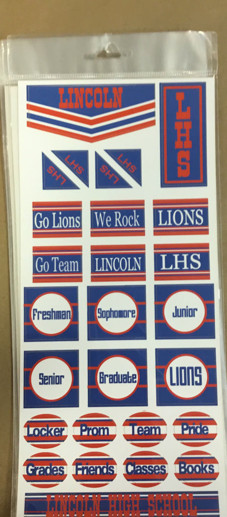 Lincoln High School stickers