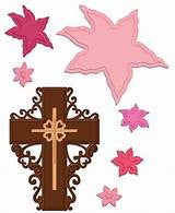 Heartfelt creations Craft Dies Cross and Lilies
