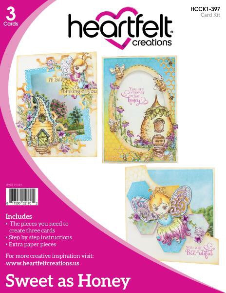 Heartfelt Creations Card kits Sweet as Honey