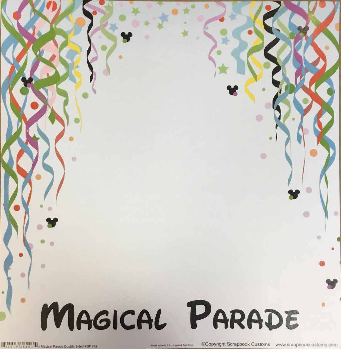 Magical Parade 12x12 single sheet
