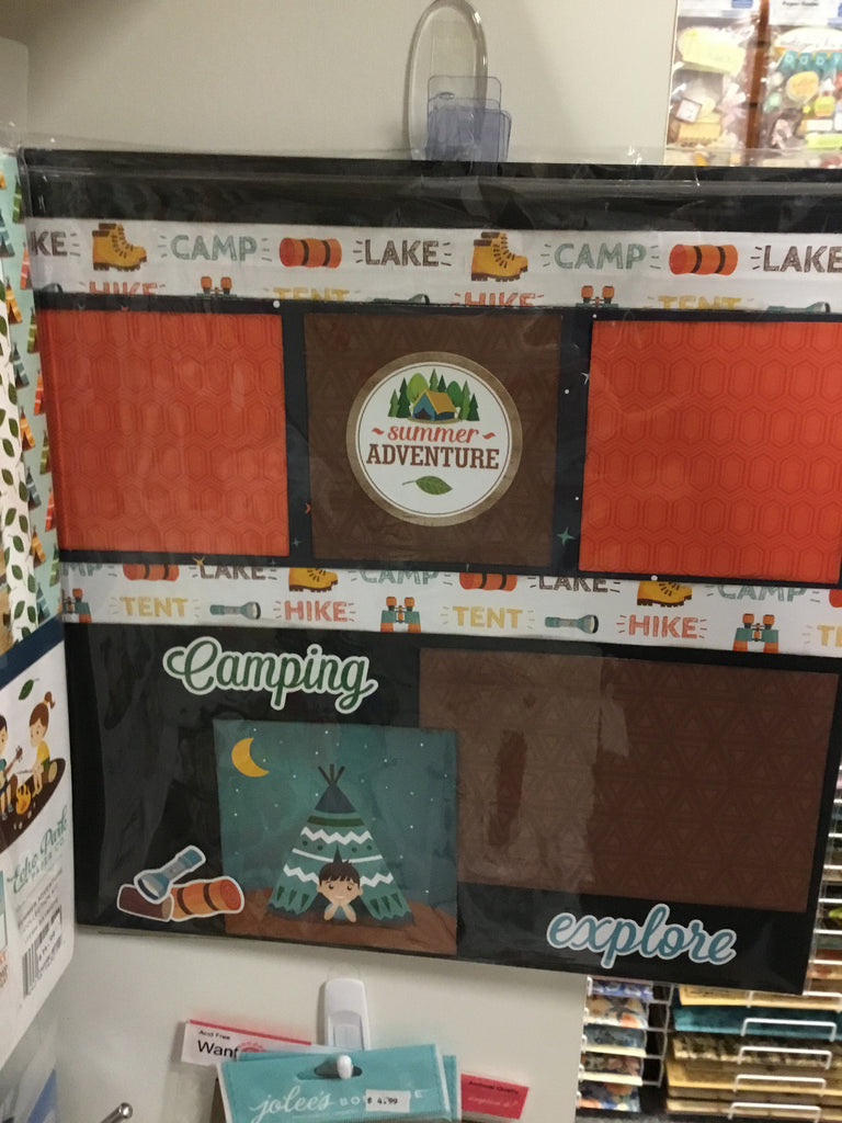 Echo park paper company 12x12 summer adventure collection kit