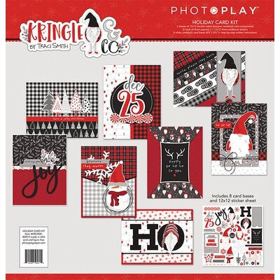Kringle holiday card kit