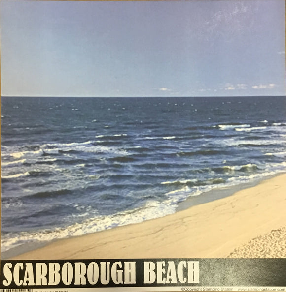 Scarborough Beach 12x12 single sheet