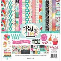 Echo park paper company 12x12 birthday party time collection kit
