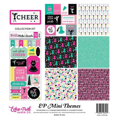 Echo park paper company 12x12 Cheer collection kit