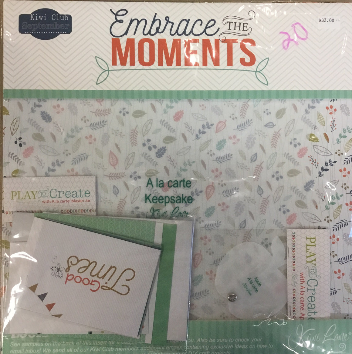 Kiwi Lane 12x12 collection kit- embrace the moments
