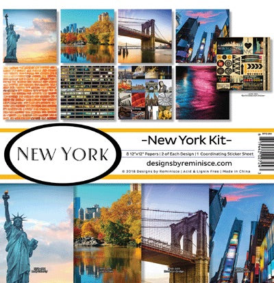 Designs by Reminisce- New York 12x12 collection kit