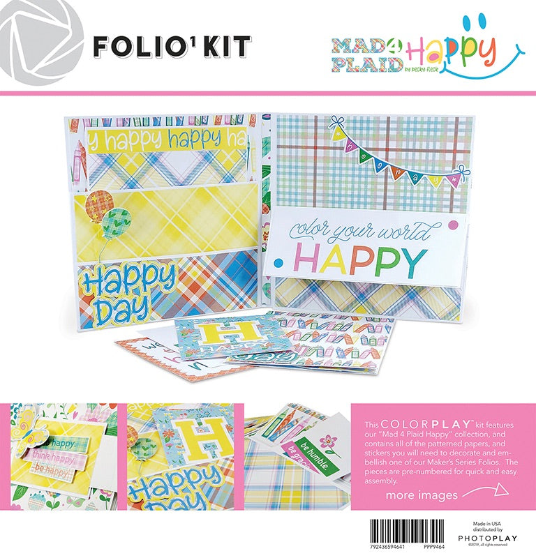 Mad 4 Plaid Folio Kit