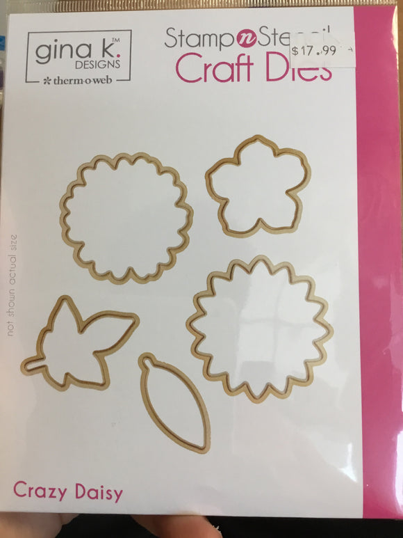 Craft dies - crazy daisy