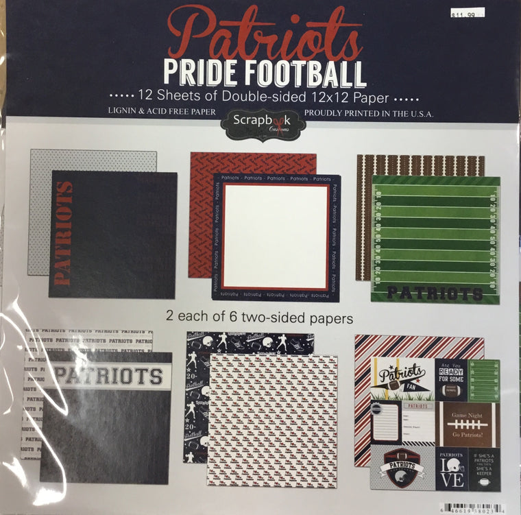Patriots Pride 12x12 kit