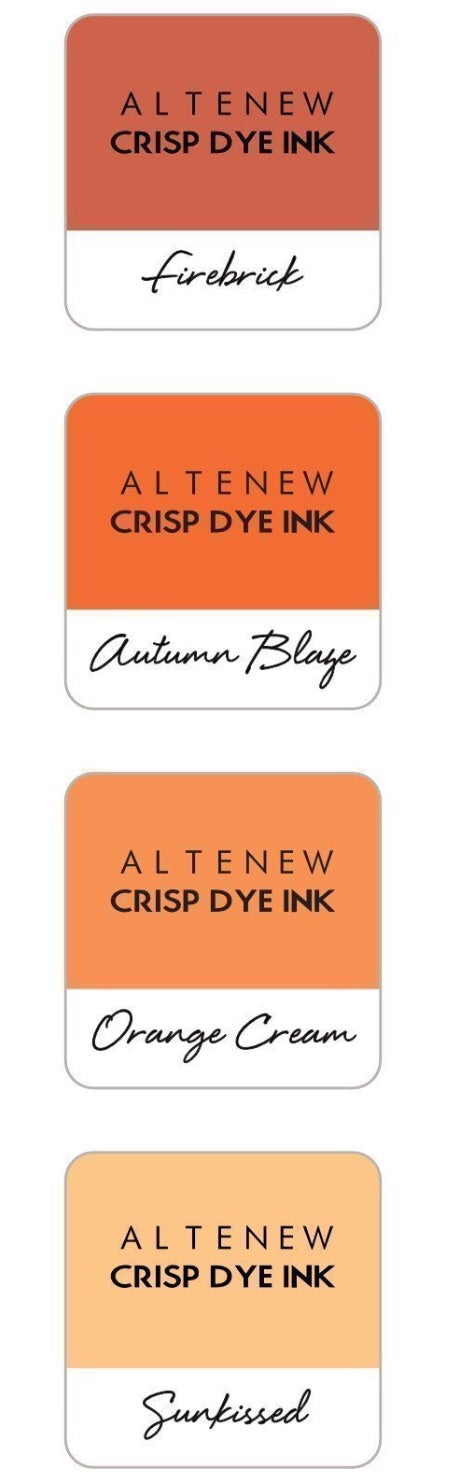 Altenew Crisp Dye Inks- Warm and Cozy